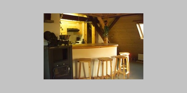 Dachwohnung - Küche