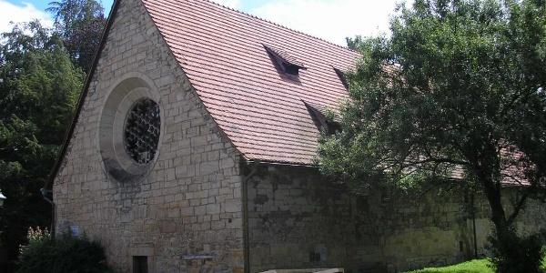 Außenansicht des Kornhauses - Georgenthal