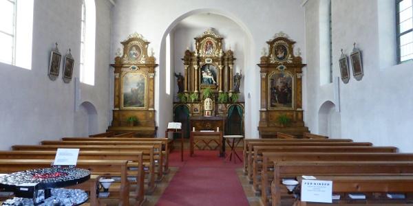 Kloster Gauenstein innen