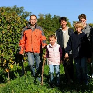 Wanderer bei Monsheim