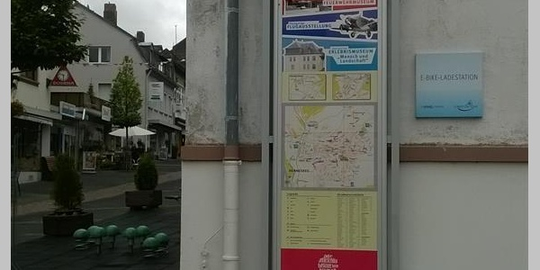 E-Bike Ladestation Rathaus