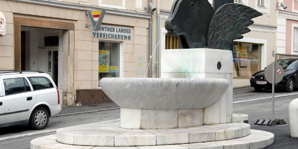 Kiki Kogelnik Brunnen Bleiburg