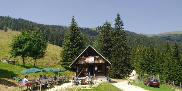 Saualpe - Reisbergerhütte