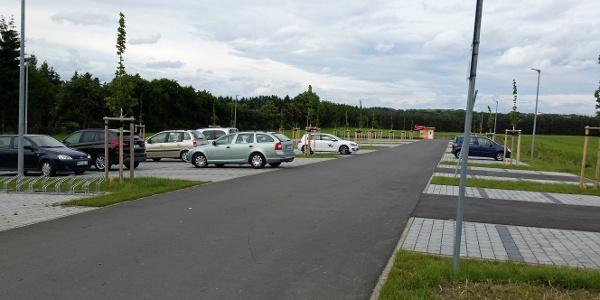 Parkplatz am Strandbad Zeulenroda