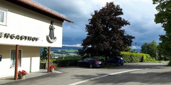 Alpengasthof in Manzen