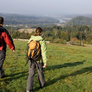 Aussicht in das Rheintal