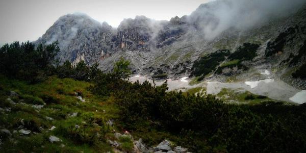 Aufstieg durch das Bergleintal (06.08.2012)