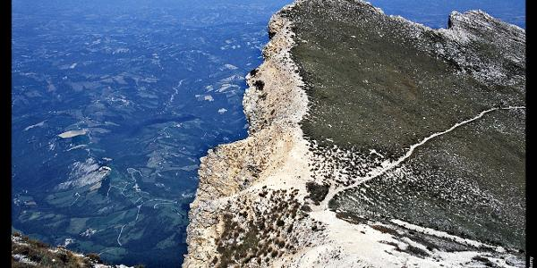 Nordabstürze des Monte Camicia