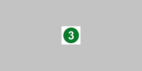 Kennzeichnung Rundwanderweg Nr. 3