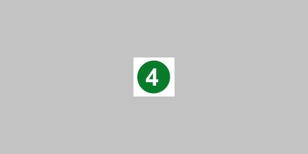 Kennzeichnung Rundwanderweg Nr. 4