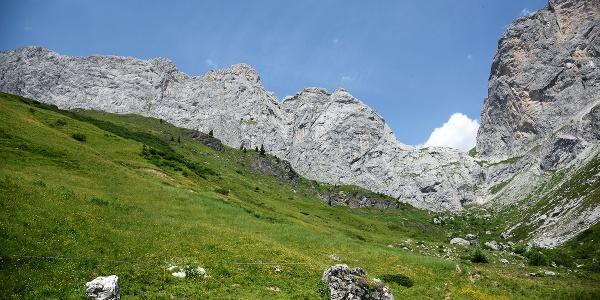 Prättigauer Höhenweg - das Schweizertor
