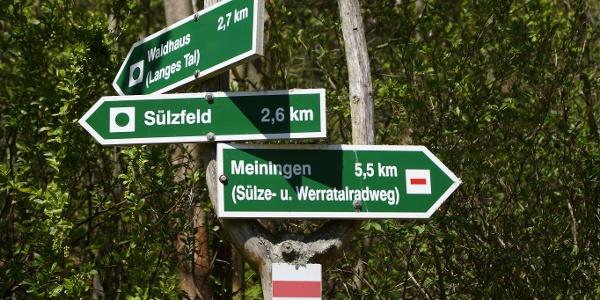 Richtung Sülzfeld
