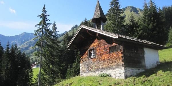 Kapelle im Vorsäß Boden