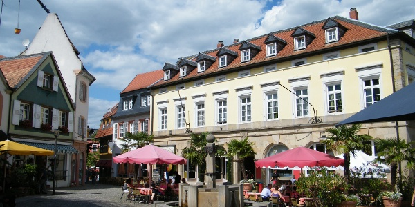 Römerplatz in Bad Dürkheim