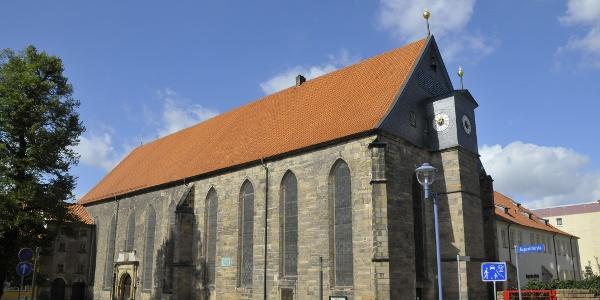 Augustinerkirche neben dem Kloster - Gotha