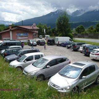 Parkplatz neben der Rettung Zirl