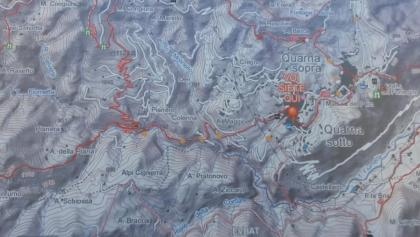 Lageplan in Quarna Sotto