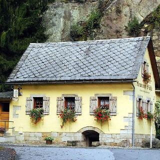 Das Gasthaus Neumannmühle.