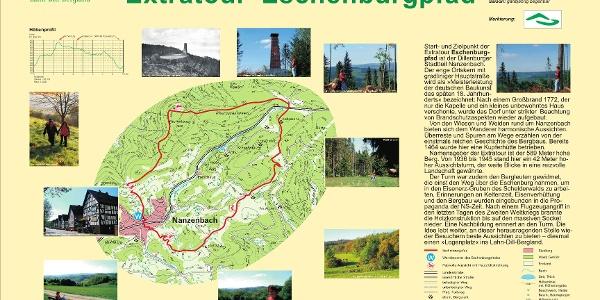 "Wegeportal Extratour ""Eschenburgpfad"""