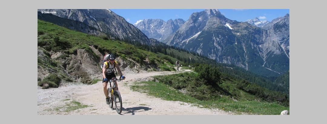 Mountainbiken in der Silberregion Karwendel
