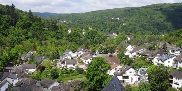 Ausblick auf Heimbach