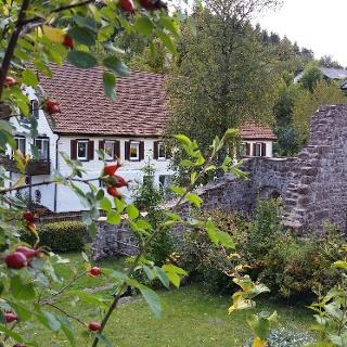 Klosterruine Kniebis mit Kräutergarten