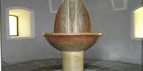 Im Pilgerbrunnen in Gurk