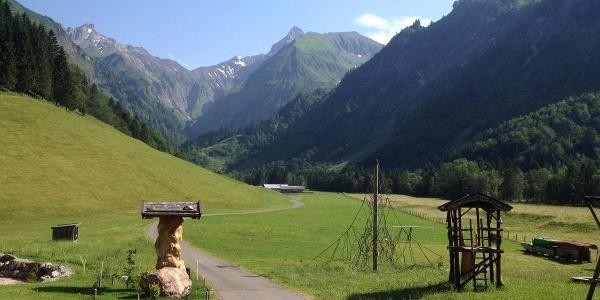 Start of the tour at Spielmannsau