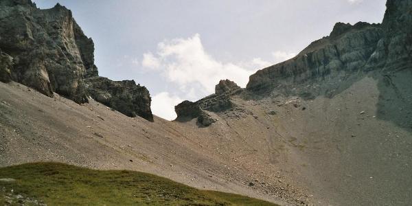 Bundnerchrinde, de pas tussen Adelboden en Kandersteg