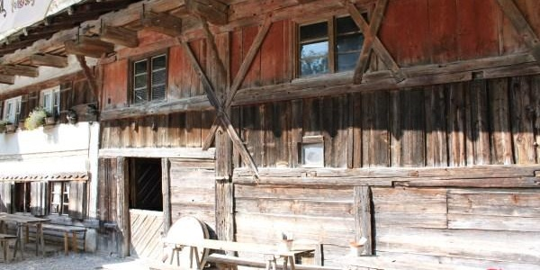 Historische Katzbrui Mühle mit Mühlenmuseum