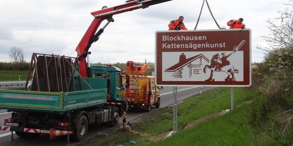 Blockhausen - Namensgeber für die 8000er-Blockline