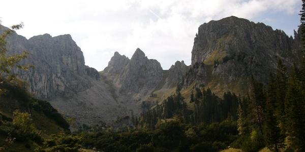 Unterwegs im Kenzengebiet im Ammergebirge bei Halblech