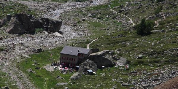 An der Almageller Alp vorbei