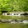 Wasserfall in der Gauchachschlucht