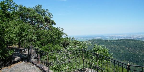 Ausblick von Orensfelsen