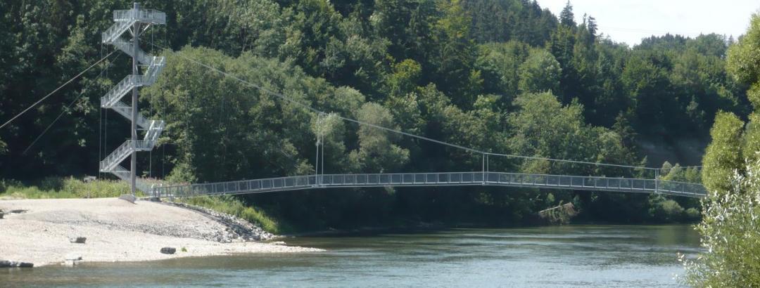 Hängebrücke Illererlebnissteg