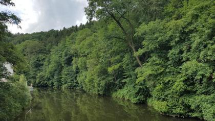 Eine malerische Landschaft bei Witzschdorf