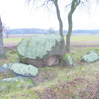 Großsteingrab un Grabhügel