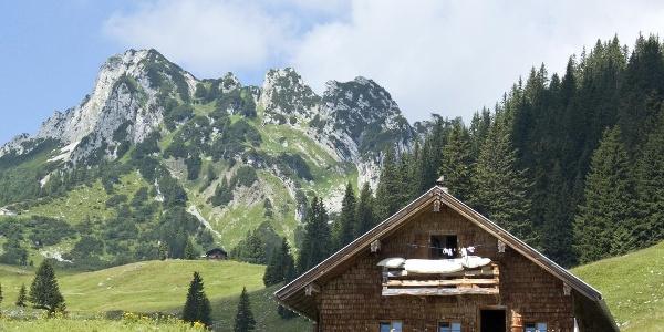 Die Soinalm am Bayrischzeller Höhenweg