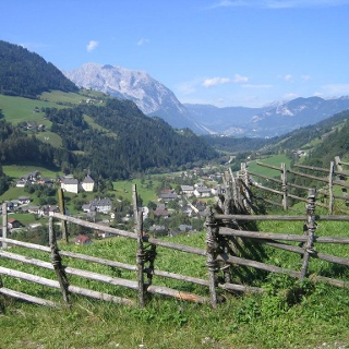 Blick auf Donnersbach