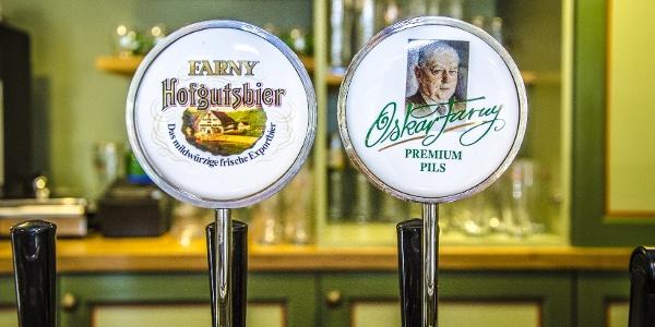 Auf dem Rückweg lohnt ein Abstecher zur FARNY Brauerei
