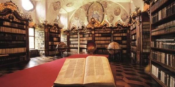 Stiftsbibliothek in Vorau