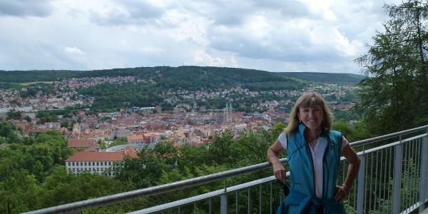 Blick von der Dietzhütte nach Meiningen