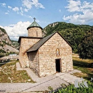 Monastery Rmanj from the year of 1498