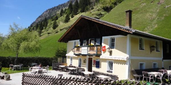 Gasthaus Touristenrast am Ausgangspunkt