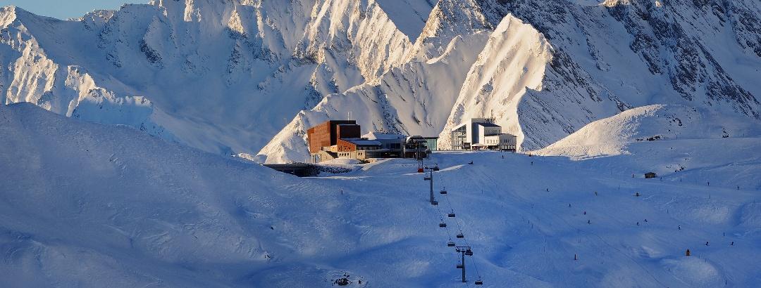 Die Internationale Ski-Arena Samnaun/Ischgl
