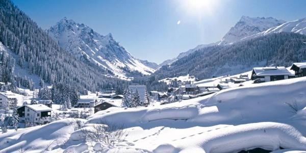 Winterdorf Gargellen