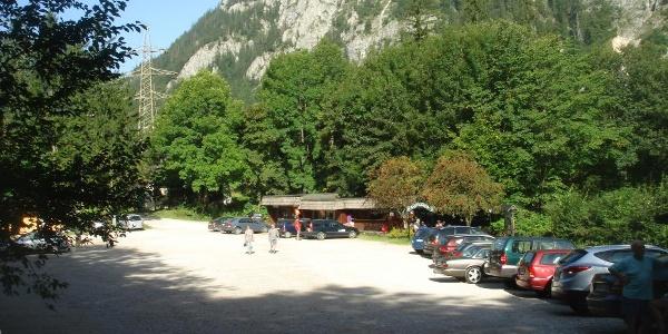 Parkplatz am Leopoldsteinersee