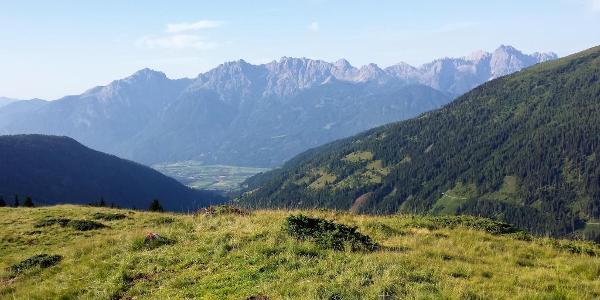 Lienzer Dolomiten und Faschingalm rechts