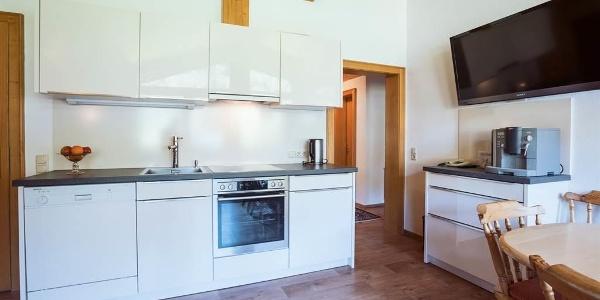 Koch-und Essbereich Dachwohnung